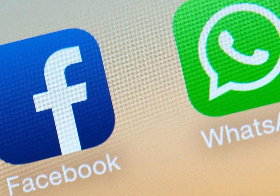 Facebook y WhatsApp podrían compartir datos de sususuarios