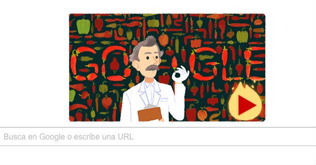 Google rinde un homenaje a WilburScoville