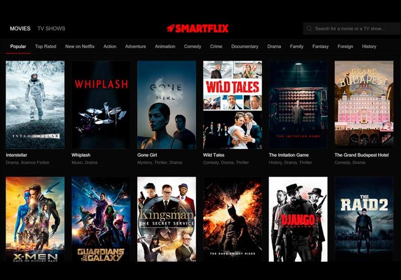 Smartflix es la app que deja ver todo el catálogo deNetflix