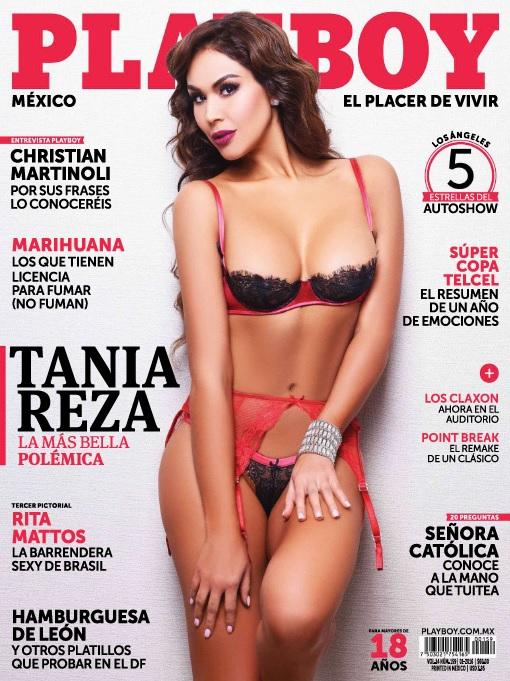 Tania Reza Playboy Mexico Enero 2016PDF