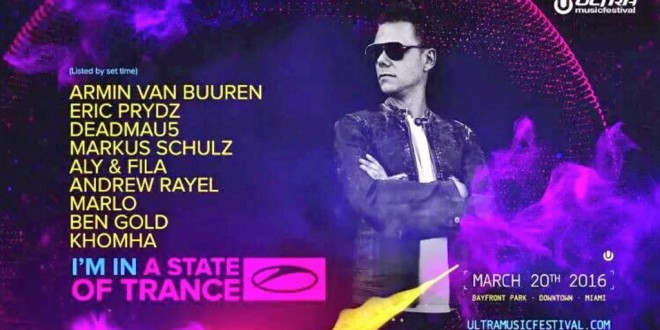 Armin van Buuren – A State Of Trance Special UMF (Miami) – 20-MAR-2016
