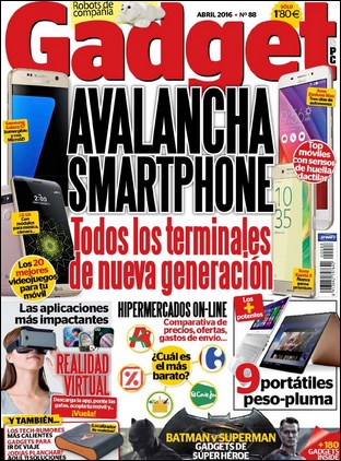 Revista Gadget Abril 2016 PDF